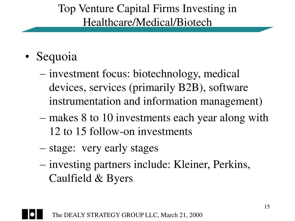 The Dealy Strategy Group LLC Presentation to Health TechNet - ppt