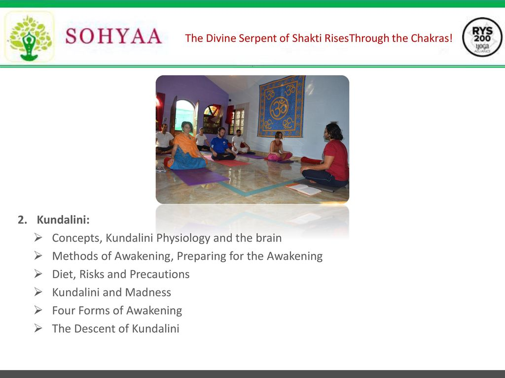 The Divine Serpent of Shakti Rises Through the Chakras! - ppt download