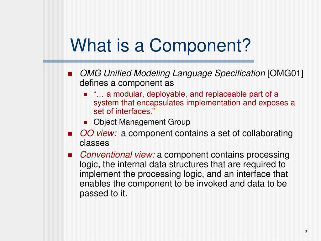 Chapter 14 Component Level Design Ppt Download