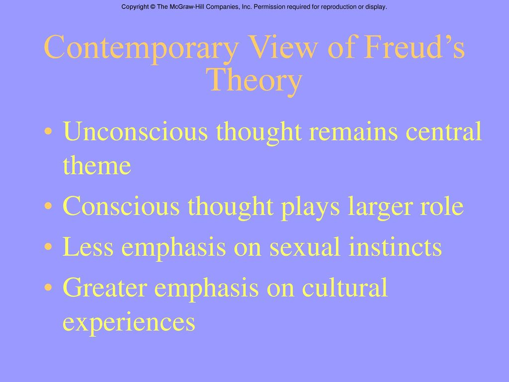 what is useful in freuds theory of He's been dead for nearly 70 years, but sigmund freud's provocative theories are still a huge part of psychology, neuroscience, and culture — this despite the fact that many of his ideas.