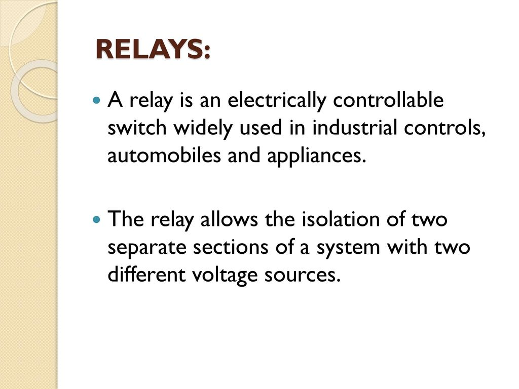 Automatic Street Light Control Using Ldr Ppt Download Picture Of Switching Lights By And Relay 13 Relays