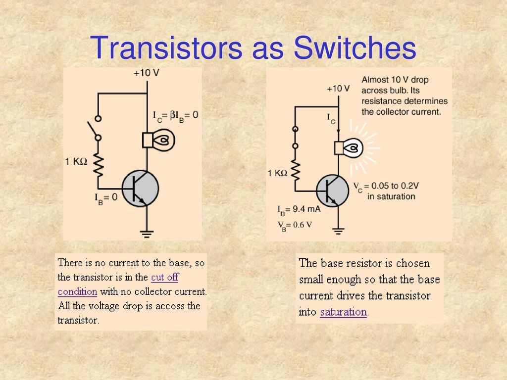 Transfer Resistor Chapter 9 Ppt Download Transistors Zero Or Lowcurrent Voltage Divider For Switch 29 As Switches