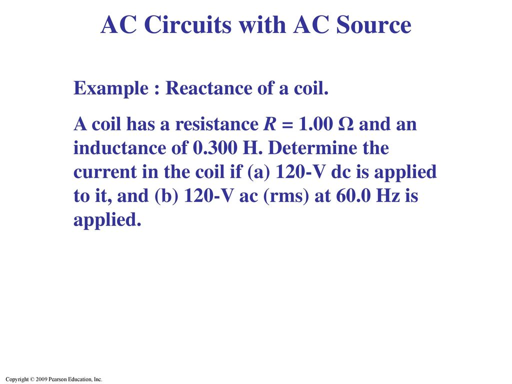 Inductance Electromagnetic Oscillations And Ac Circuits Ppt Download In An Circuit With Source