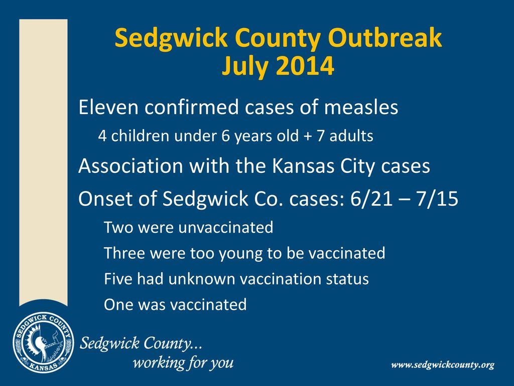 Quarantine and Isolation During the Sedgwick County - ppt