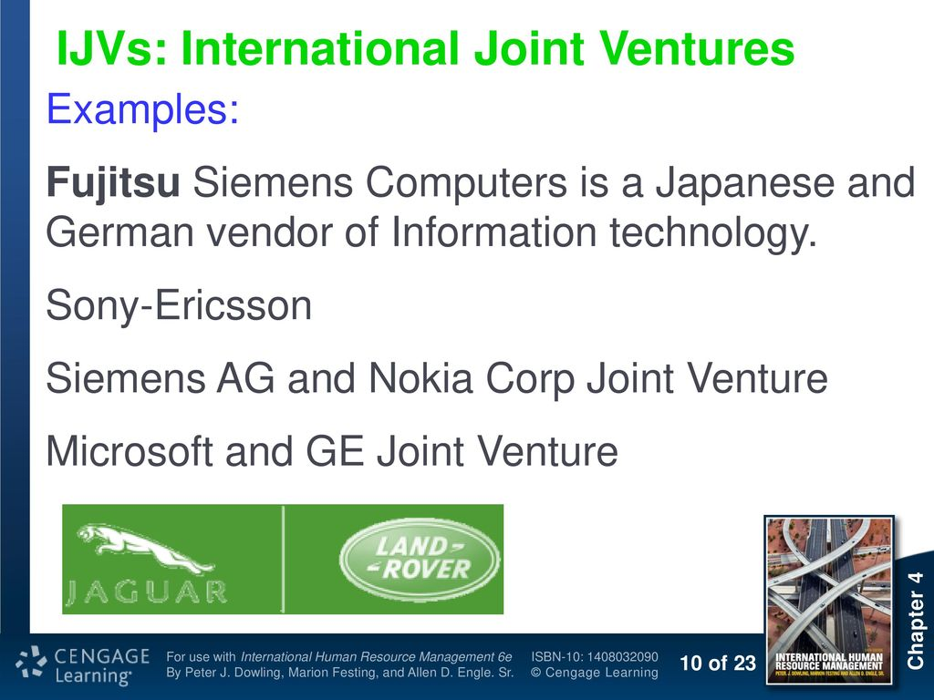 Printable successful international joint ventures examples.