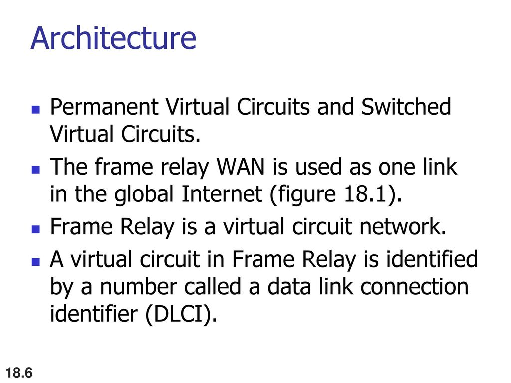 Virtual Circuit Networks Ppt Download Virtualcircuit 6 Architecture