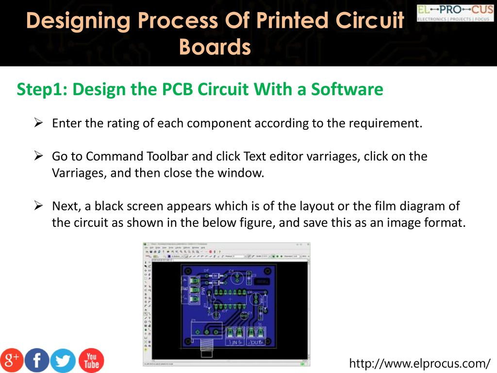 Designing Process Of Printed Circuit Boards Ppt Download How Did I Do The Board Layout In First Place