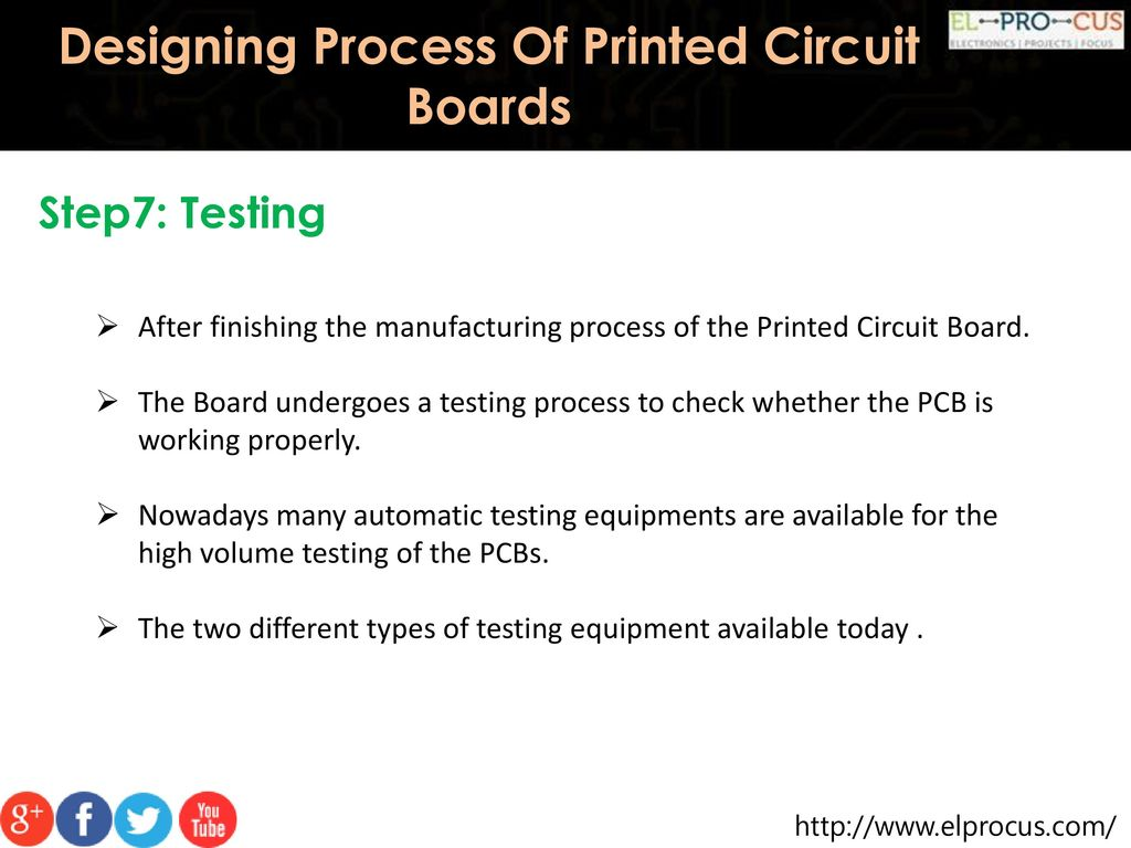 Designing Process Of Printed Circuit Boards Ppt Download How To Check A Board
