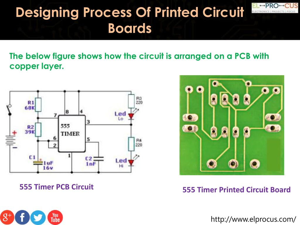 Designing Process Of Printed Circuit Boards Ppt Download Pcb Diagram