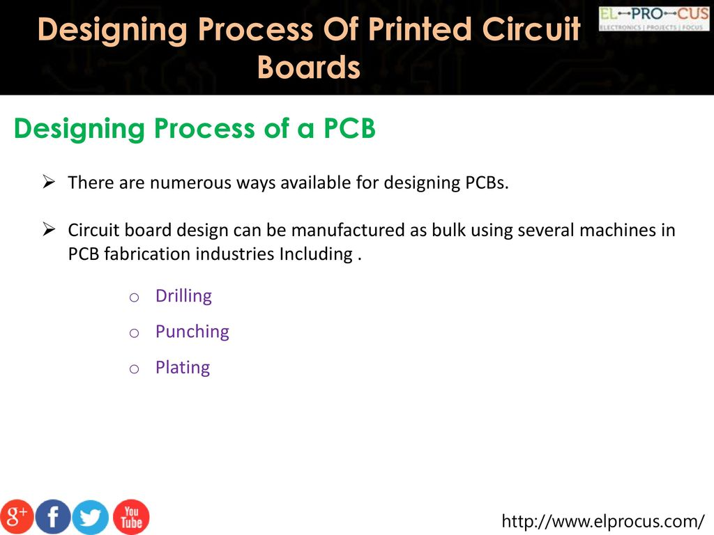 Designing Process Of Printed Circuit Boards Ppt Download Board Design