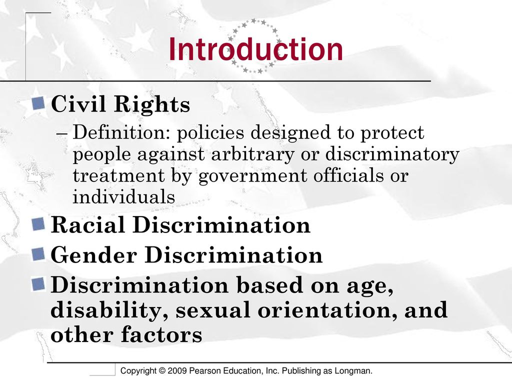 civil rights and public policy - ppt download