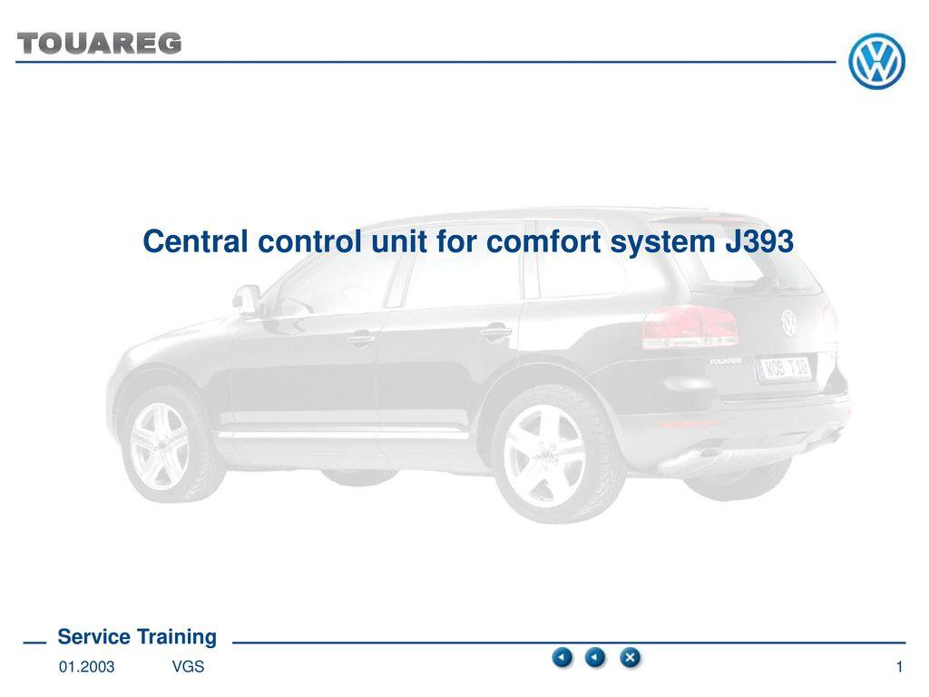 Central control unit for comfort system J ppt download