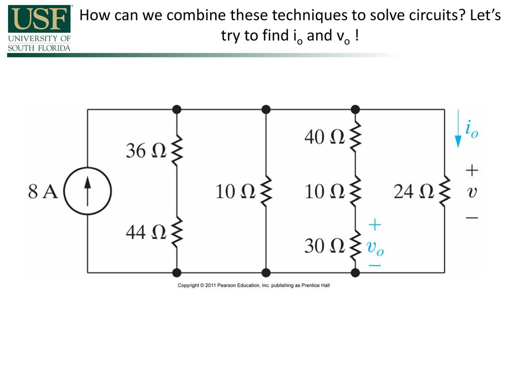 Power And Energy Consider The Product Of Voltage Current V I Electrical Circuit Solving Technique Loop Mesh Method How Can We Combine These Techniques To Solve Circuits