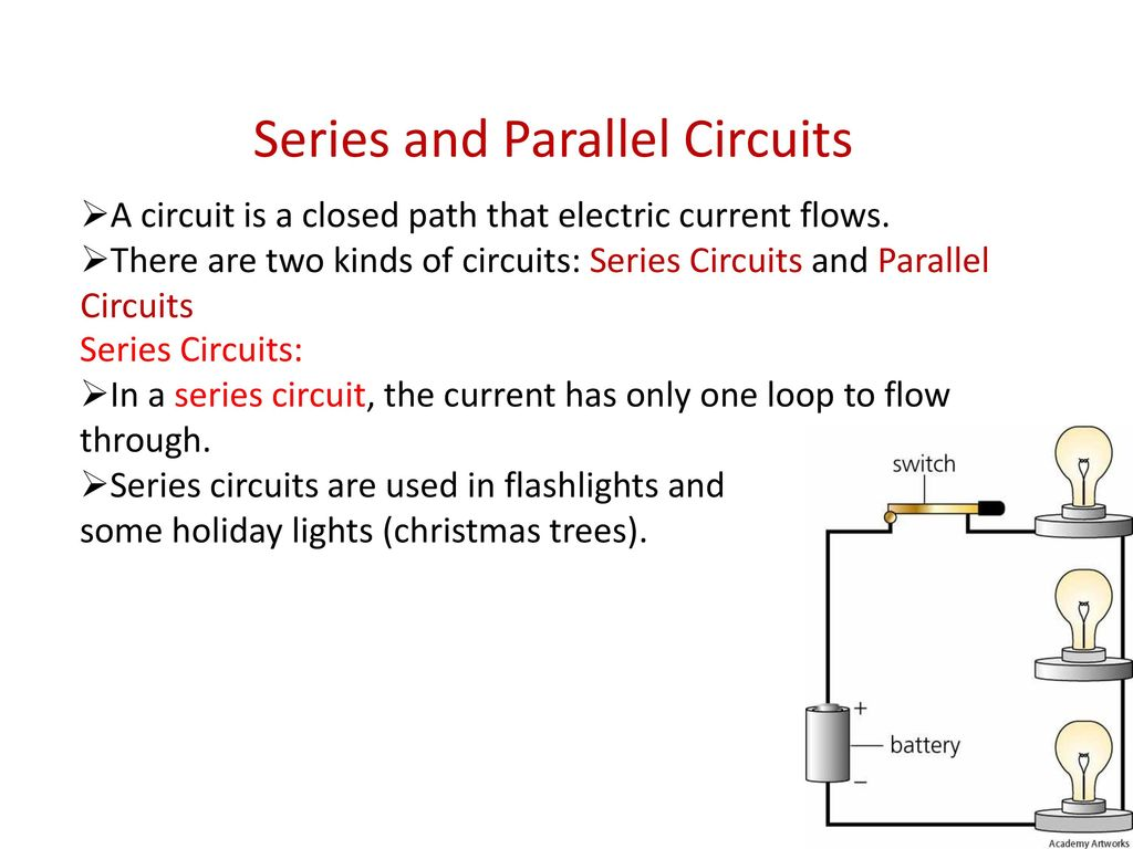 Lecture 54 55 Electric Power Ozgur Unal Ppt Download Circuit Is Path That Allows Electricity To Flow Through Series And Parallel Circuits