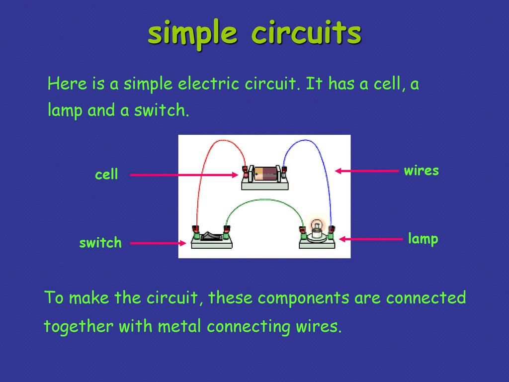 Define Insulator And Conductor Write 3 Examples Of Each Ppt Download Simple Lamp Circuit Circuits Here Is A Electric It Has Cell