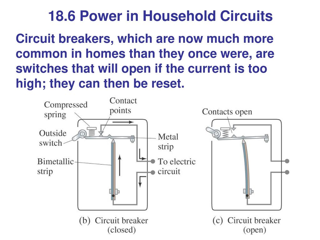 Contemporary Household Circuits Illustration - Electrical Circuit ...