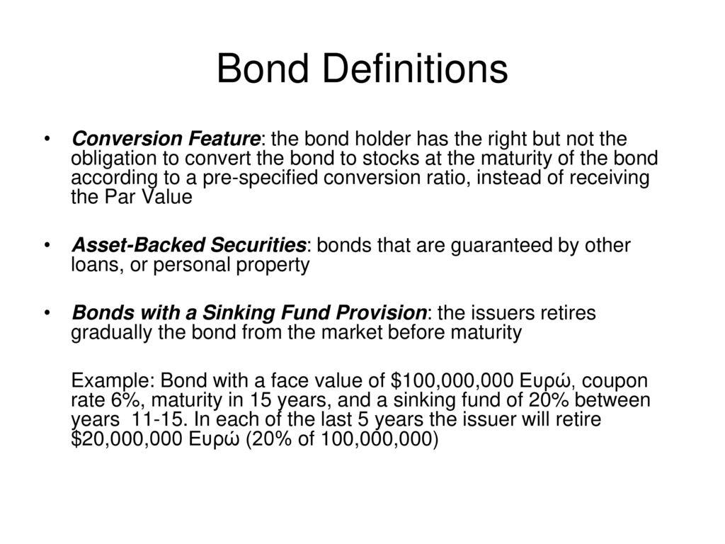 financial management bond valuation - ppt download