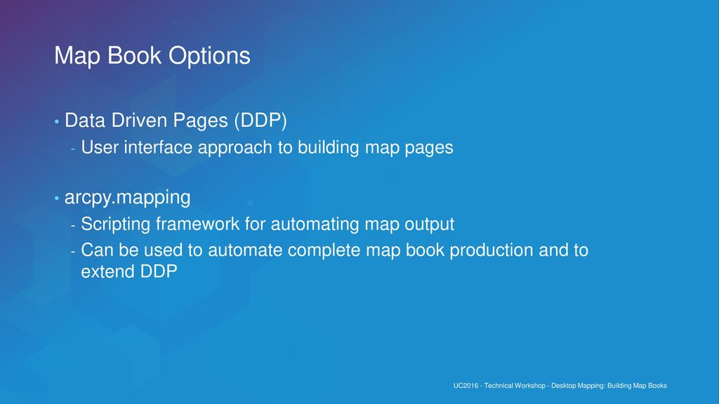 Desktop Mapping: Building Map Books - ppt download on