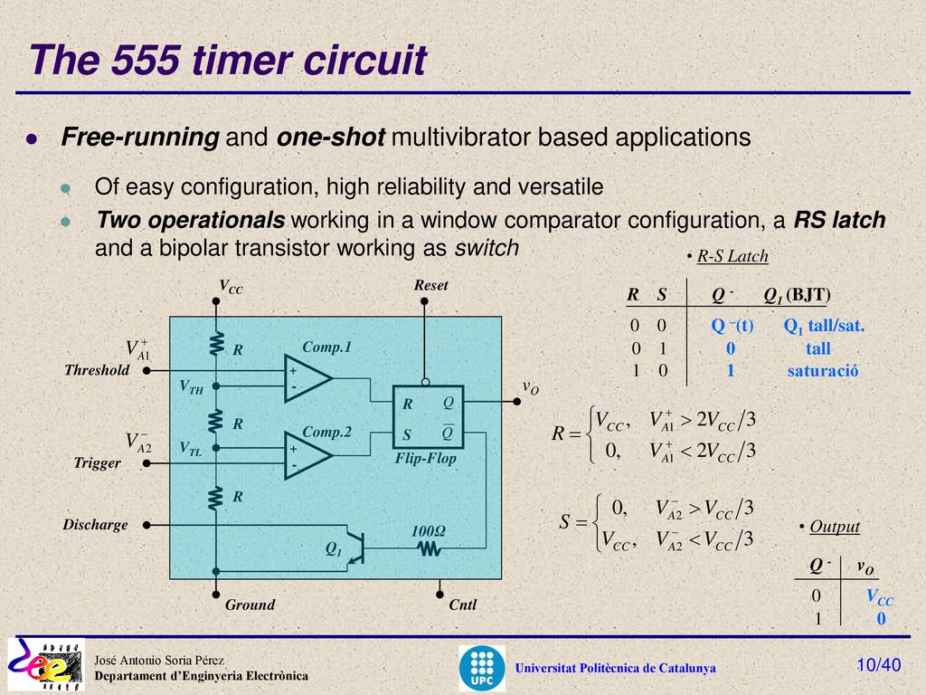Micro Nanoscience And Nanotechnology Ppt Download Clap Switch Circuit Using Ne555 Timer Ic Circuits Gallery The 555 Free Running One Shot Multivibrator Based Applications Of