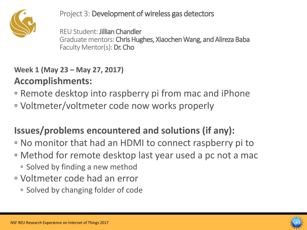 Remote desktop into raspberry pi from mac and iPhone - ppt