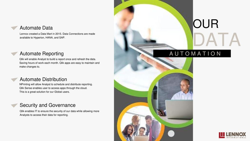 OUR JOURNEY FROM EXCEL TO QLIK - ppt download