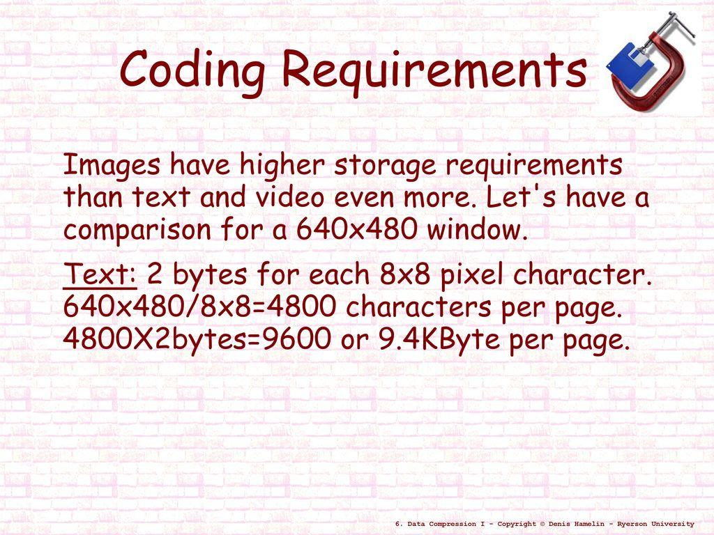Data Compression I  - ppt download