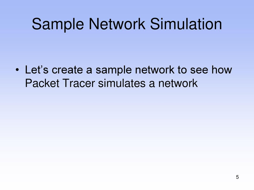 How to Use Packet Tracer - ppt download