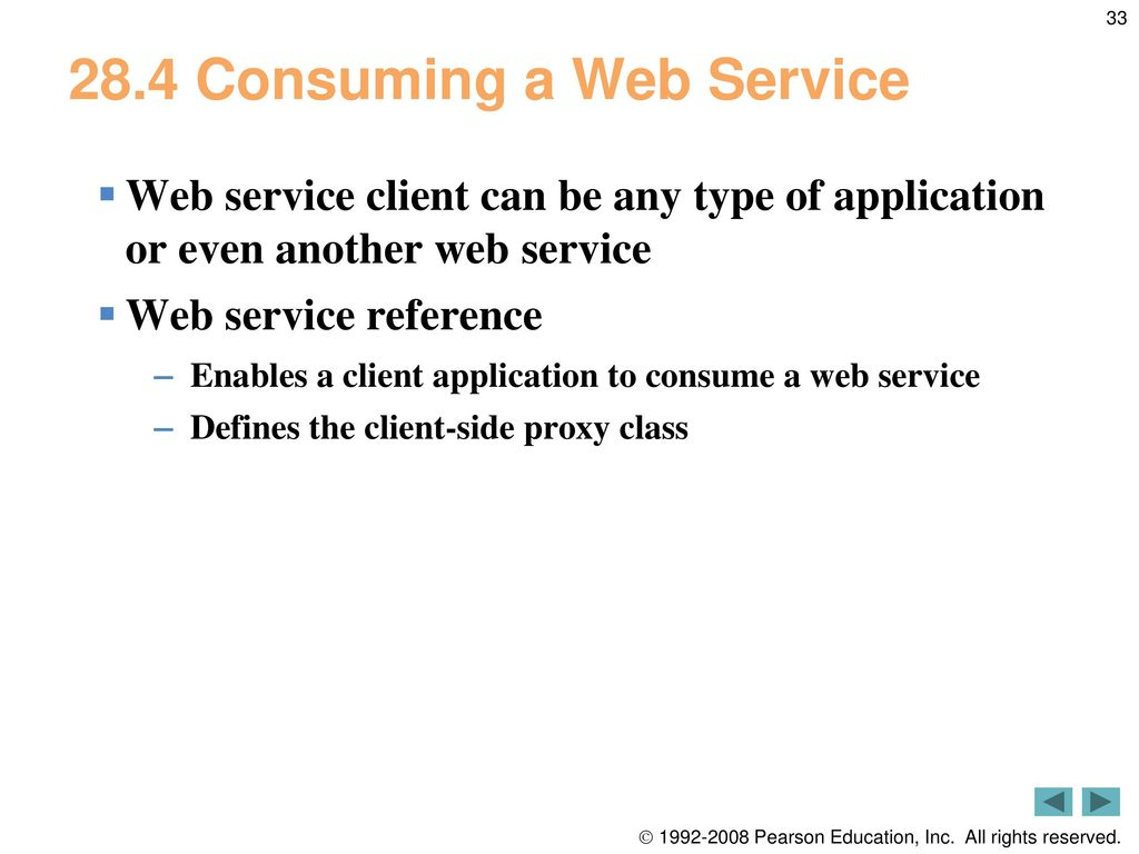 28 Web Services  - ppt download