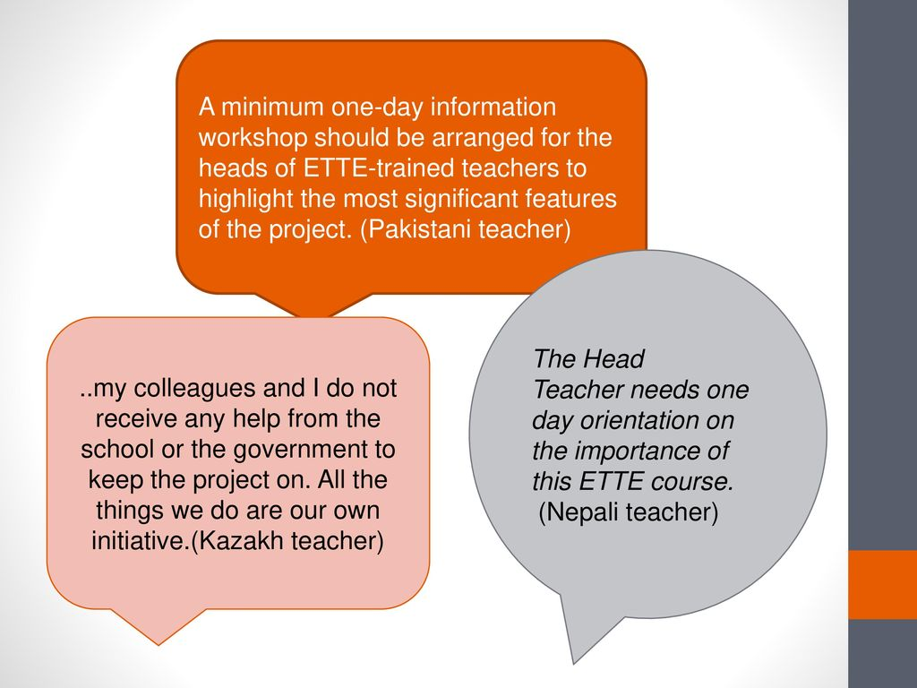 ETTE : tracing the impacts of a large-scale ELT project