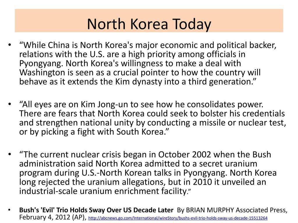 Kim Jong-un and North Korea - ppt download