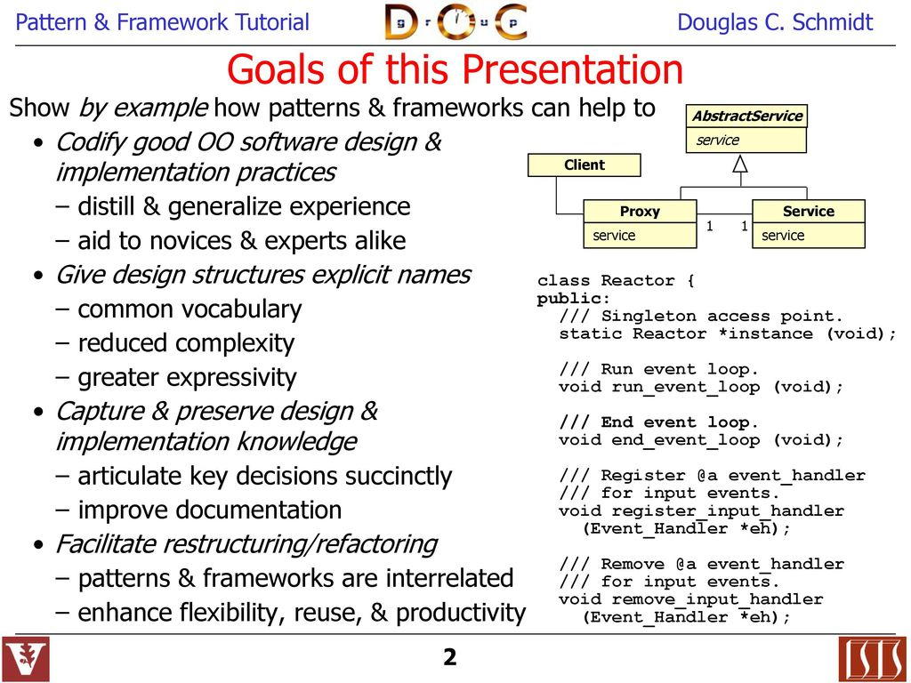 Object-Oriented Patterns & Frameworks - ppt download