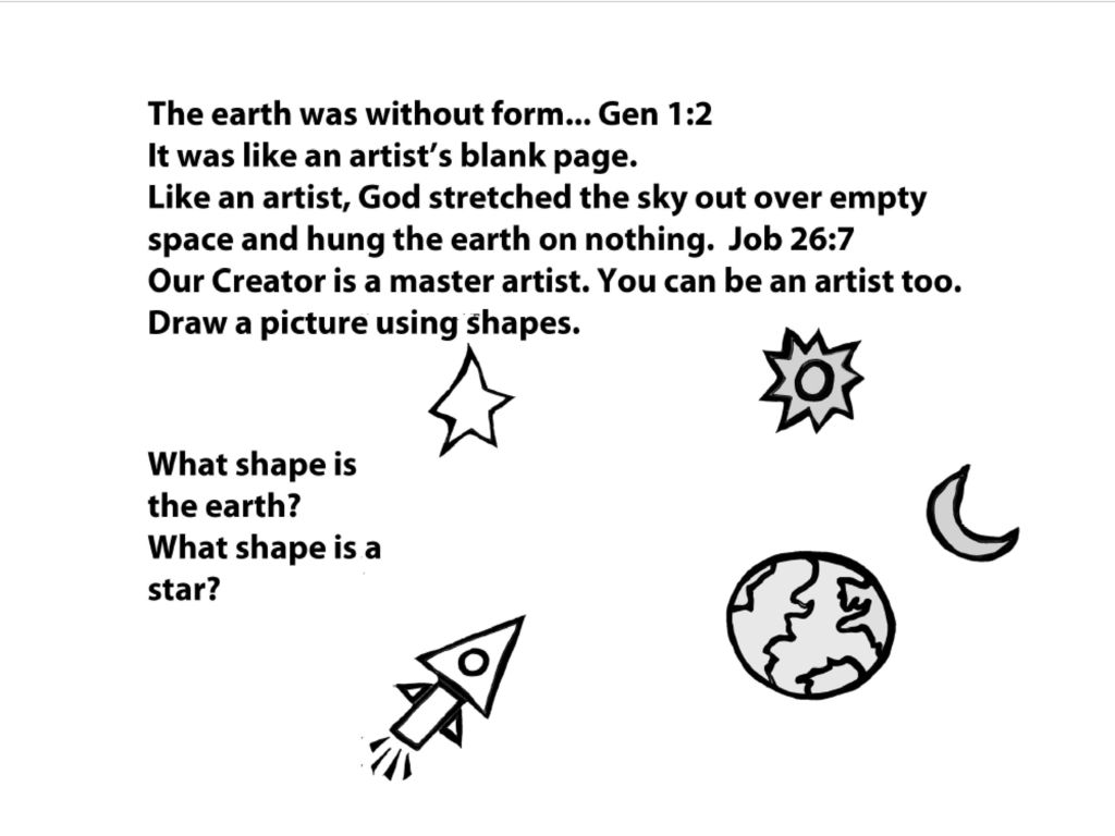 god's little storybook about art/creation - ppt download