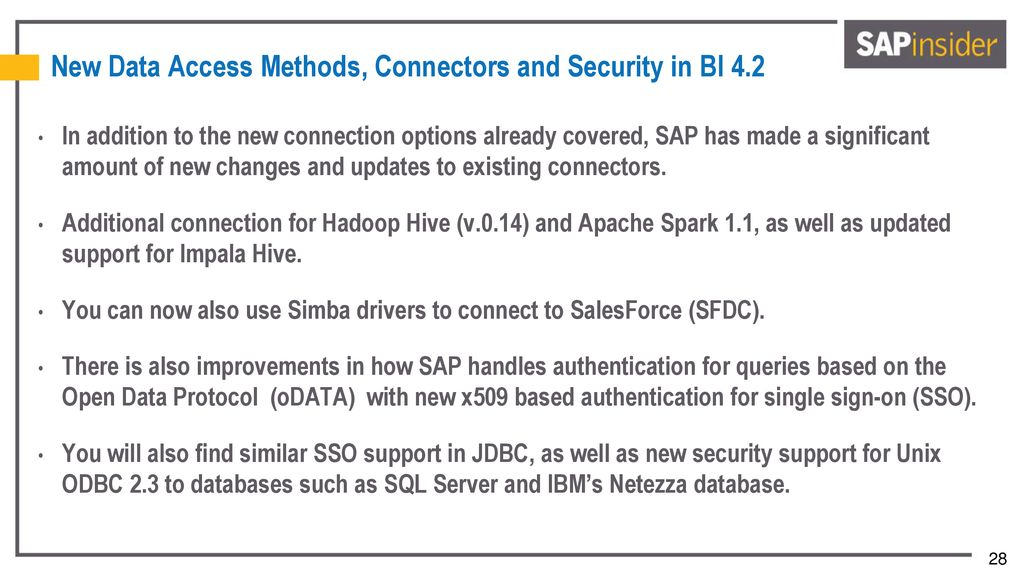 A guide to integrating SAP BusinessObjects BI 4 - ppt download