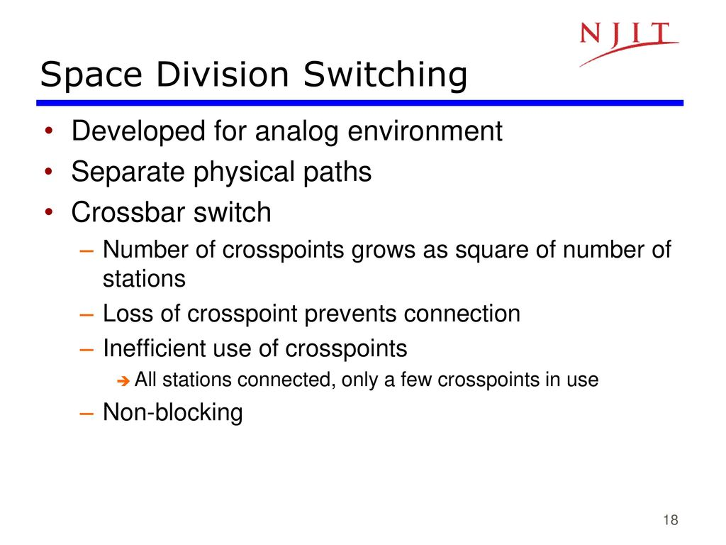 Ece 683 Computer Network Design Analysis Ppt Download Matrix Or Crossbar Switching Space Division 19