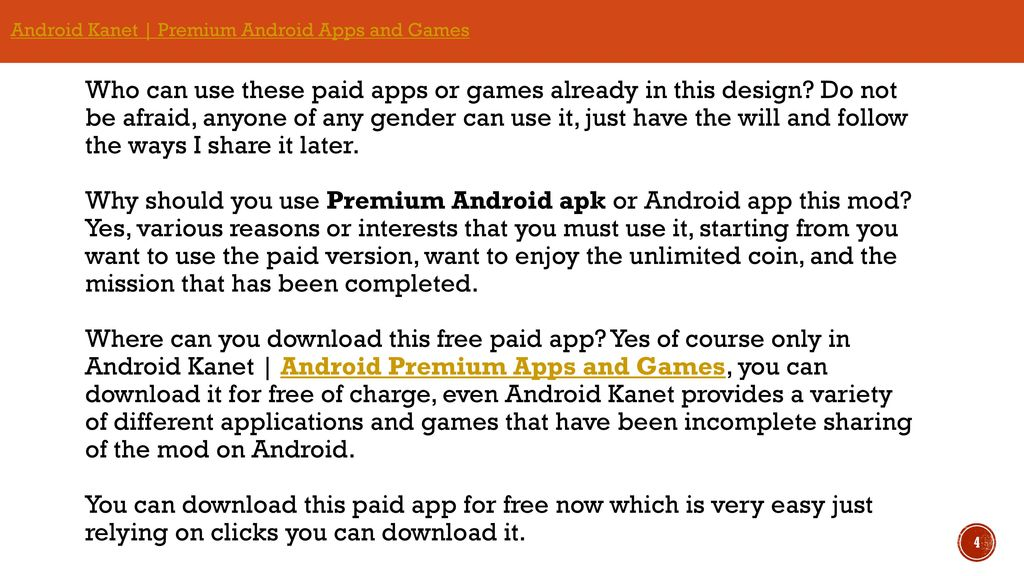 How to download premium android apps and games - ppt download