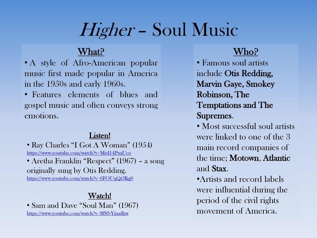 American Week N5/6 Music  - ppt download