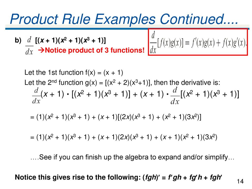 41 The Power Rule Theorem The Power Rule Ppt Download