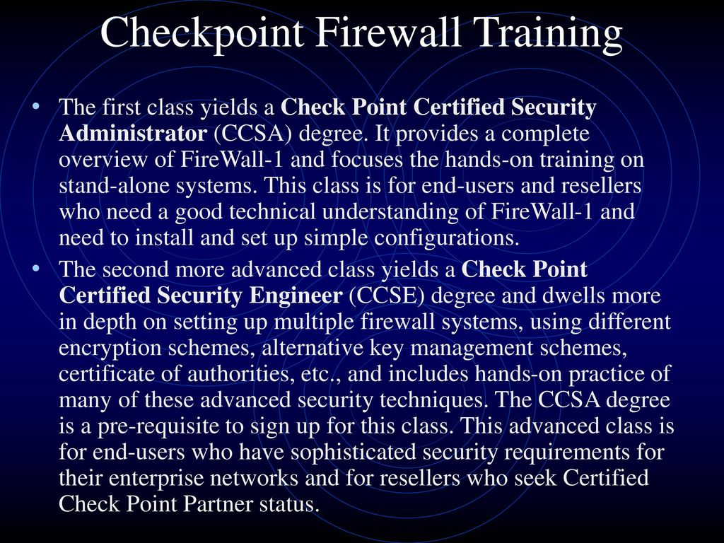 Security Criteria, Certifications, and Training - ppt download