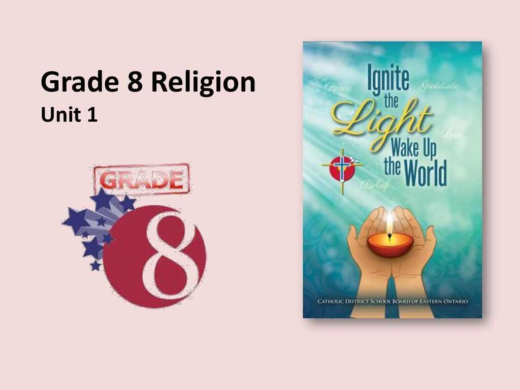 Grade 8 Religion Unit Ppt Download