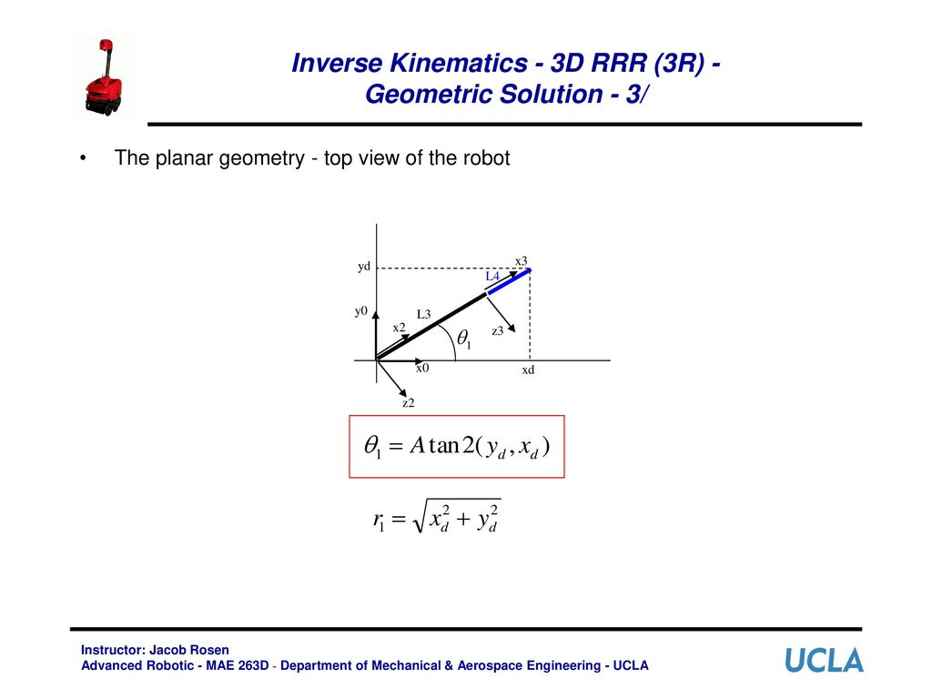 Inverse Manipulator Kinematics - ppt download