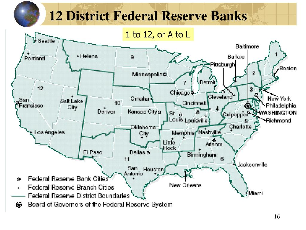 federal reserves 12 district - HD1024×768