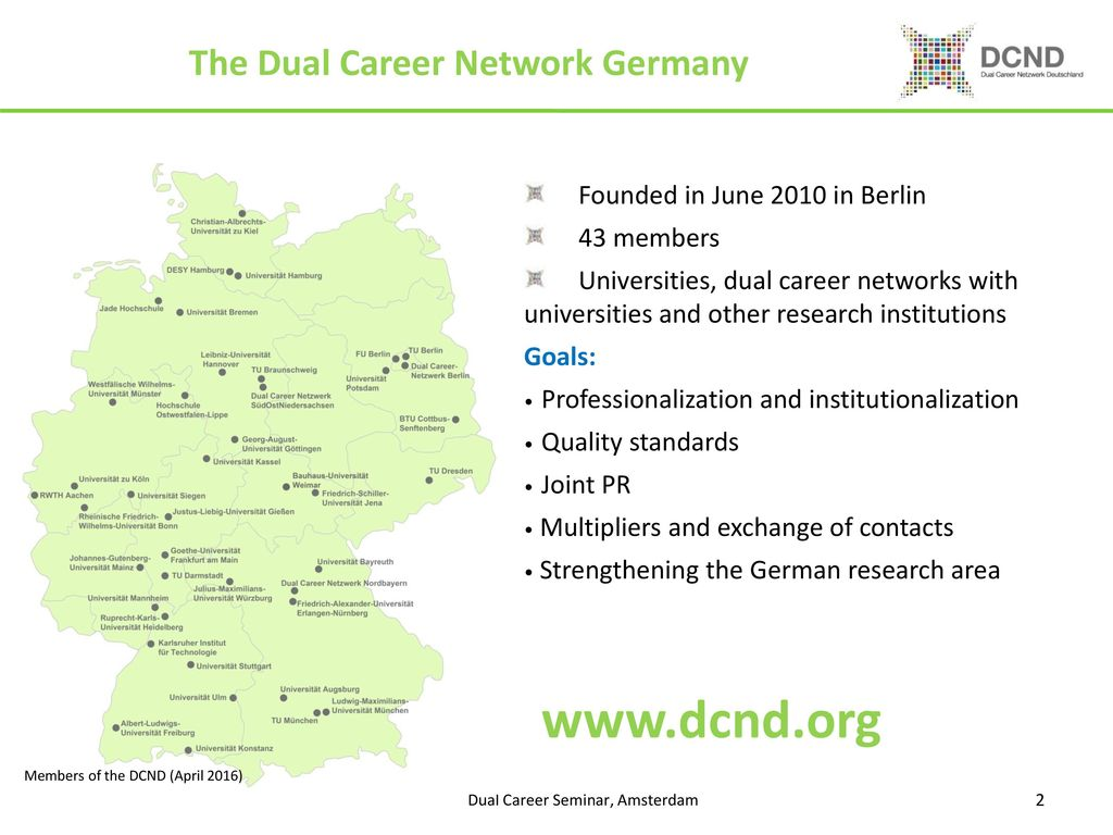 Dual Career Network Germany Ppt Download
