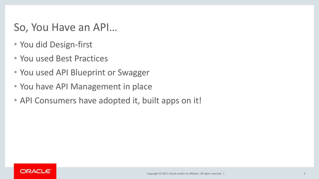 Scaling your api development workflow ppt download so you have an api you did design first you used best practices malvernweather Gallery