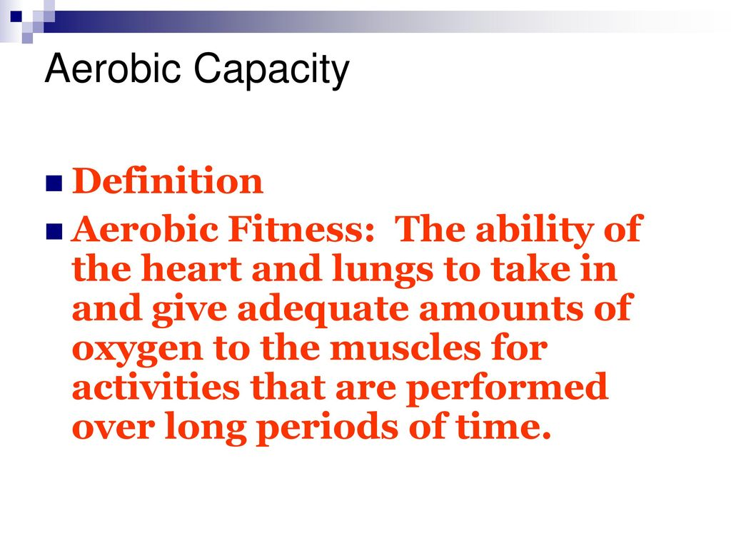 five components of fitness - ppt download