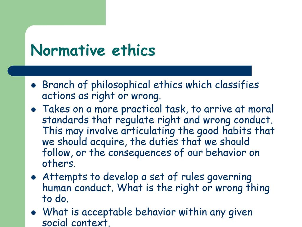 Branches Of Ethics Ppt Download