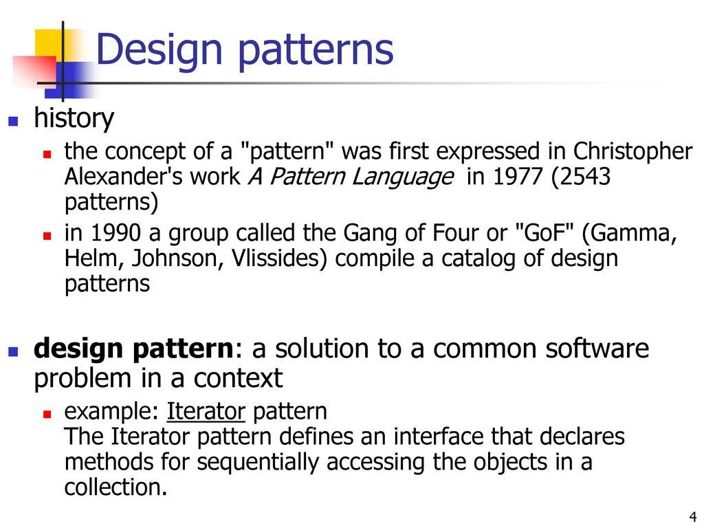 Gang Of 4 Design Patterns Amazing Decorating Design