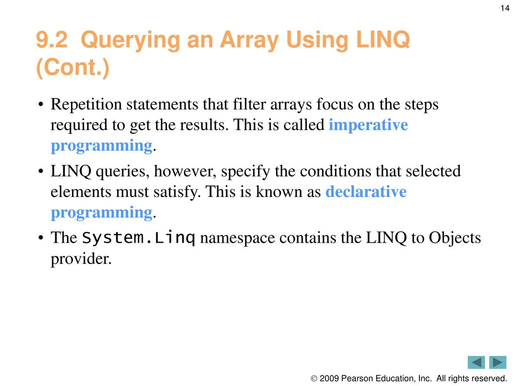 String Array Contains Linq