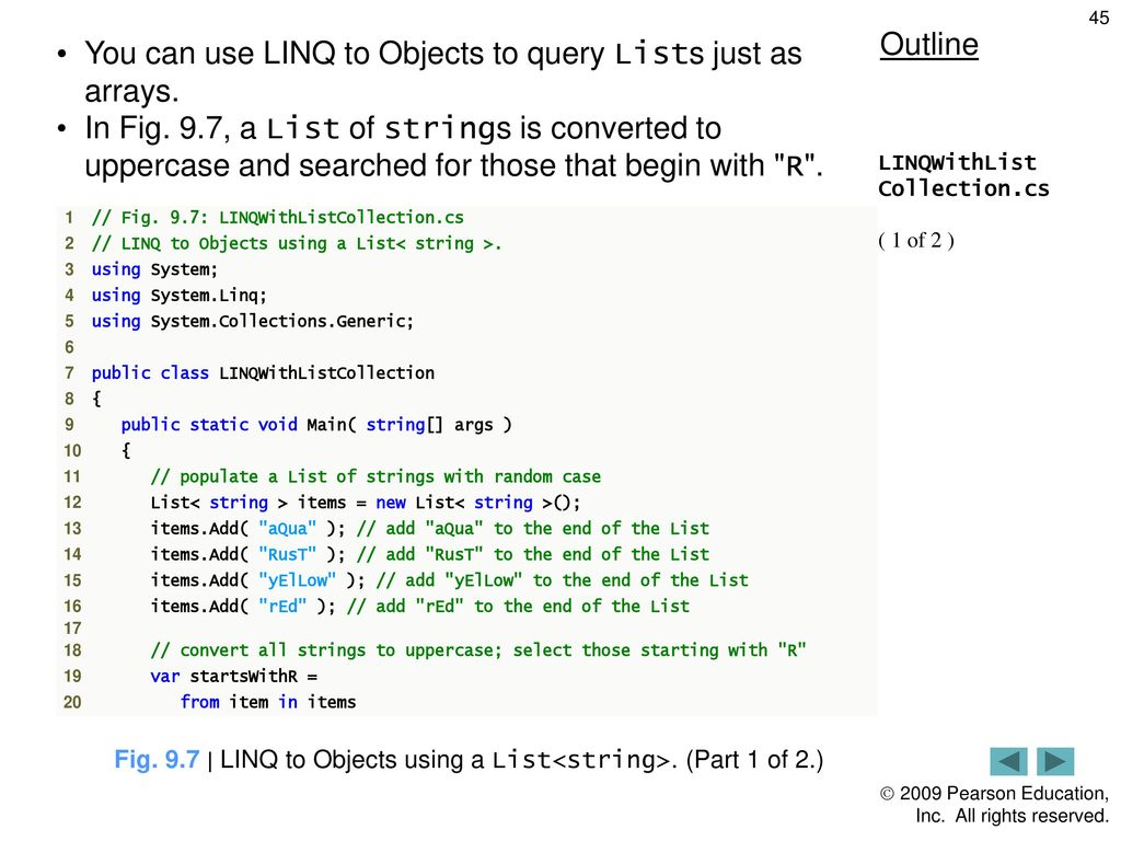 Introduction to LINQ and Generic Collections - ppt download