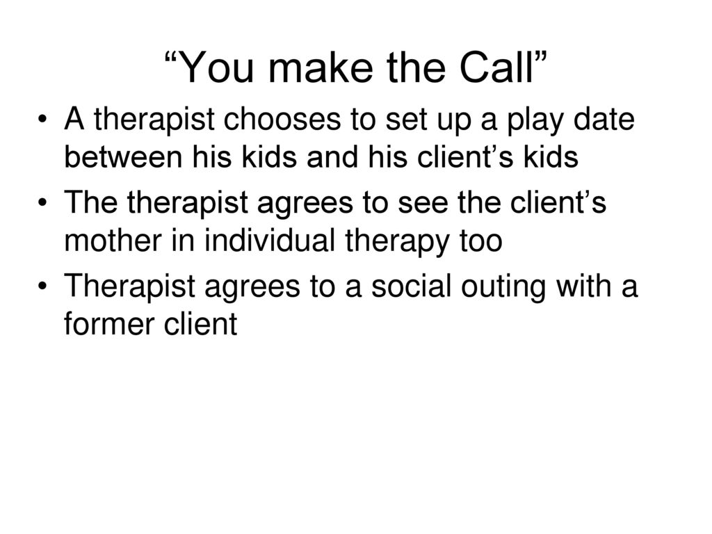 therapist dating clients yall dating no why