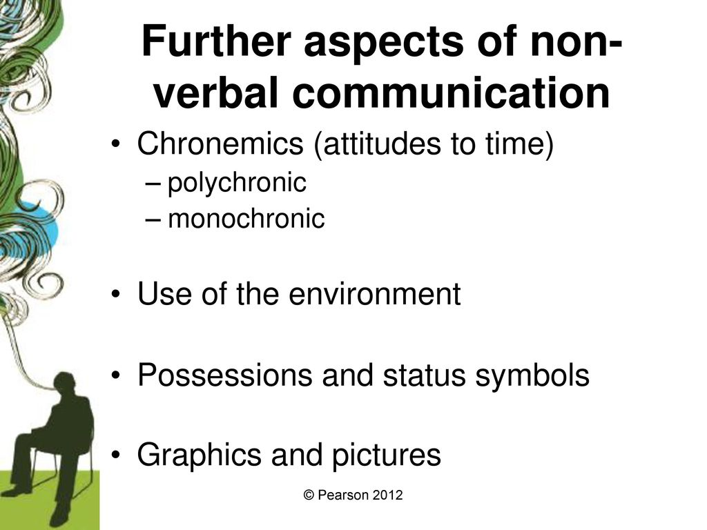 Verbal And Non Verbal Communication Ppt Download Discussion of the nonverbal code of chronemics (how we use time to communicate). verbal and non verbal communication